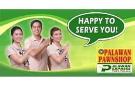 Get money from Palawan Pawnshop